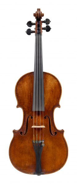 Front of a violin by Claude Pirot, Paris, 1813