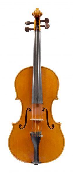Front of a violin by Domingos and Antonio Capela, Anta Espinho, 1975