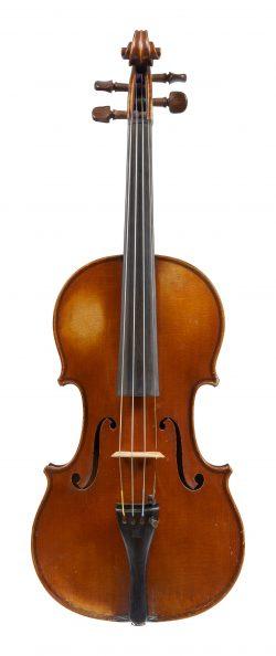 Front of a violin by Émile L'Humbert, Paris, 1929