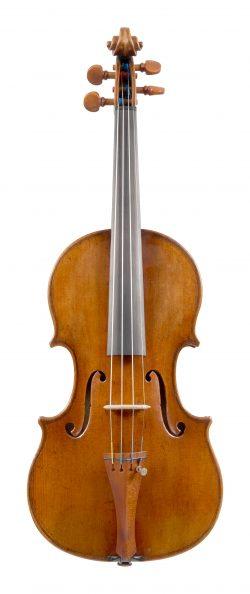 Front of a violin by Ferdinando Gagliano, Naples 1762
