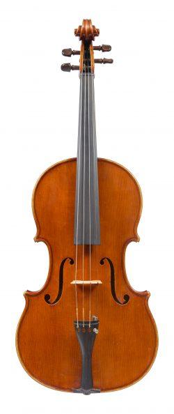 Front of a viola by Ferdinando Garimberti, Milan, 1972