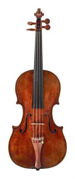 front of a violin by Francesco Goffriller, Udine, 1730