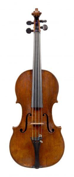 Front of a violin by Francesco Rugeri, Cremona, circa 1670