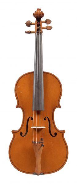 Front of a violin by Franco Albanelli, Bologna, 1997