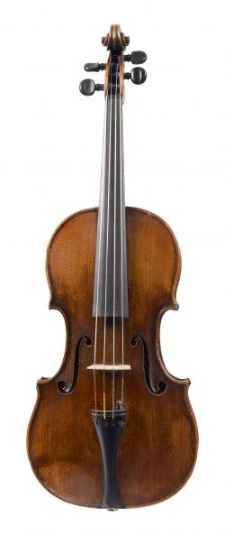 Front of a viola by François Fent, Paris, late 18th century