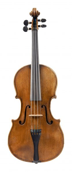 Front of a violin by François Fent, Paris, late 18th century
