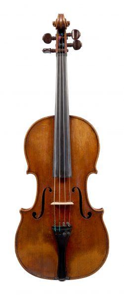 Front of a violin by François-Louis Pique, Paris, circa 1810, Ex-Albert Cooper