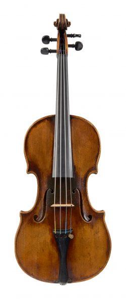 Front of a violin by Franz Geissenhof, Vienna, 1808