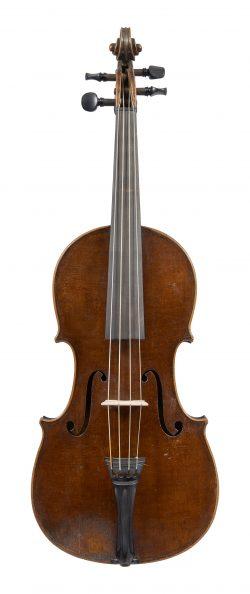 Front of a violin by Gabriel David Buchstetter, Regensburg, circa 1770