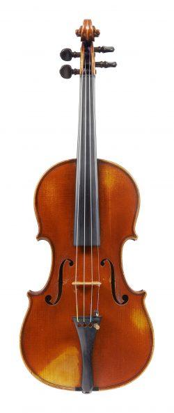 Front of a violin by Gand & Bernardel frères, Paris, 1878