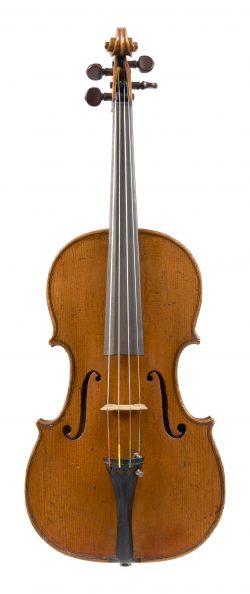 Front of a viola by Gasparo Piattellini, Florence, circa 1770