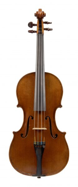 Front of a violin by George Wulme-Hudson, London, 1939