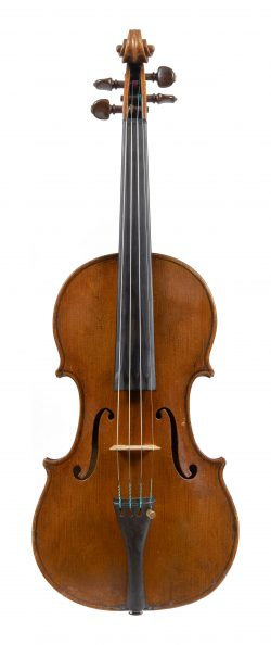 Front of a violin by George Wulme-Hudson, London, circa 1920
