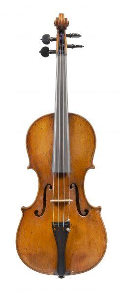 Front of a violin Giovanni Battista Ceruti, Cremona, c1791