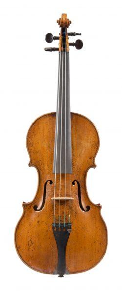 Front of a violin by Giovanni Francesco Leonpori, Rome, 1759
