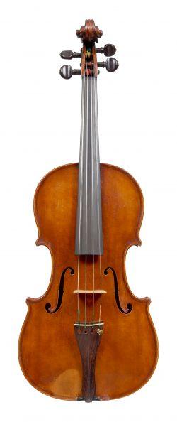 Front of a viola by Giovanni Francesco Pressenda, Turin, 1837