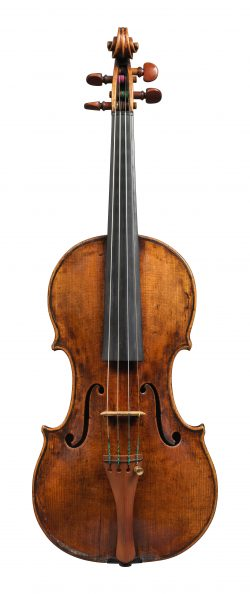 front of a violin by Giovanni Grancino, Milan, c1700