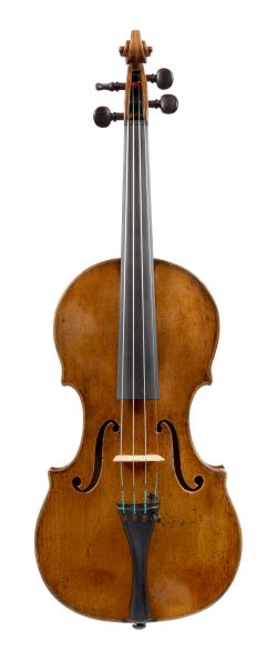 Front of a violin by Giovanni Grancino, Milan, c1690