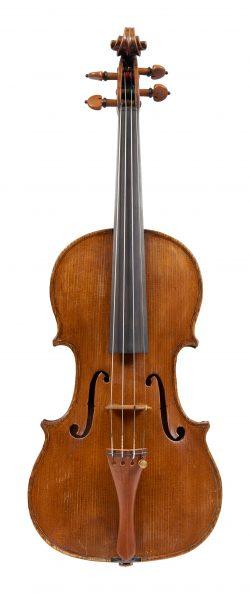 Front of a violin by Giovanni Pistucci, Naples, circa 1910