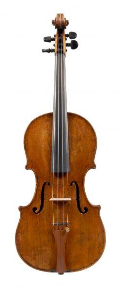 Front of a violin by Giulio Cesare Gigli, Rome, circa 1750