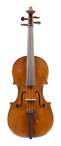 Front of a violin by Giulio Degani, Venice, 1894