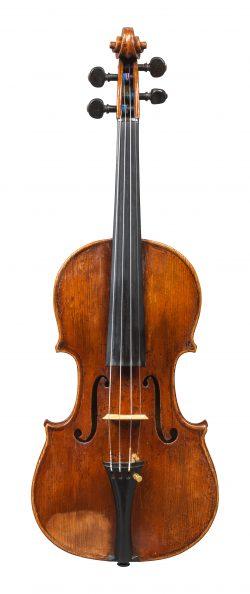 Front of a violin by Giuseppe & Antonio Gagliano, Naples, 1805