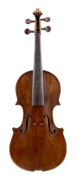 Front of a violin by Giuseppe & Antonio Gagliano, Naples, 1800