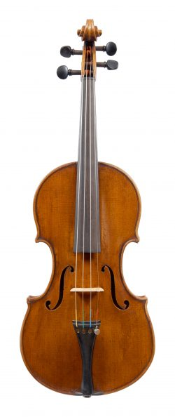 Front of a violin by Giuseppe Bellinazzi, Verona, 1928