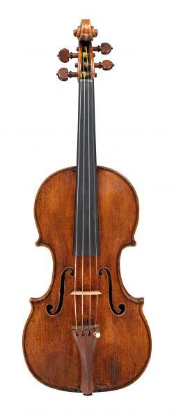 Front of a violin by Giusepep Guarneri filius Andreae, Cremona, 1716, Serdet