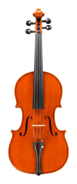 Front of a viola by Giuseppe Lucci, Rome, 1971