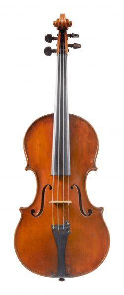 Front of a violin by Giuseppe Pedrazzini, Milan, circa 1935