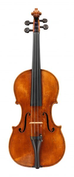 Front of a violin by Giuseppe Rocca, Turin, circa 1840