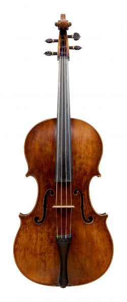 Front of a viola by Hendrick Willems, Ghent, circa 1690
