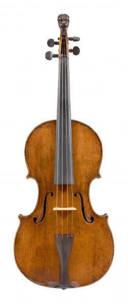 Front of a viola by Hendrik Willems, Ghent, circa 1680