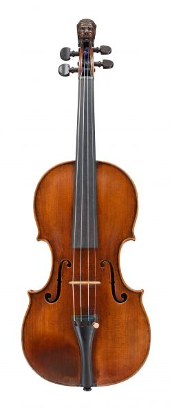 front of a violin by Jacob Stainer, 1659, The King