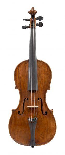 Front of a violin by Jacopo Filipo Cordano, Genoa, circa 1725