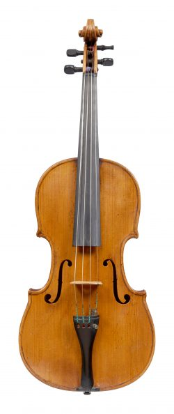 Front of a viola by Jean-Baptiste le Febvre, Amsterdam, 1768