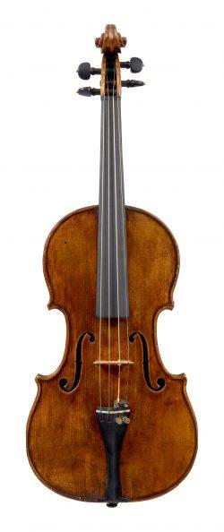 Front of a violin by Jean François Aldric, Paris, circa 1820