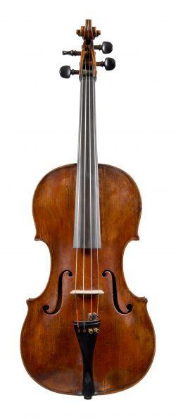 Front of a viola Johannes Jais, Bolzano, c1770