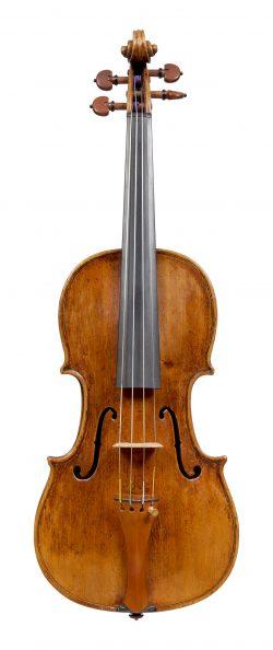 Back of a violin by Lorenzo Storioni, Cremona, circa 1780