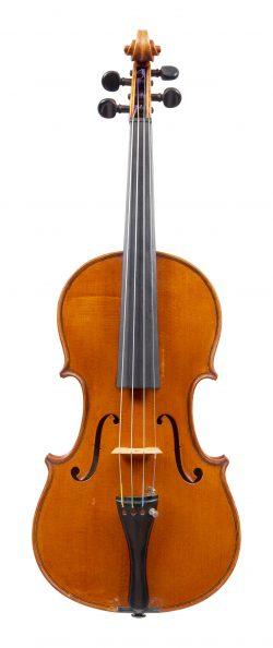 Front of a violin by Luigi Galimberti, Seveso, 1929