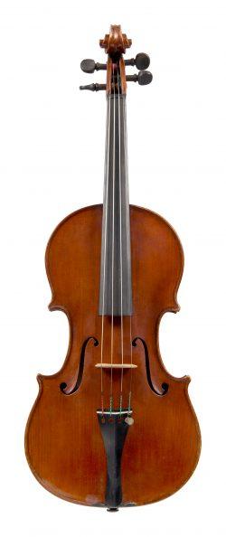 Front of a violin by Luigi Vistoli, Venice, 1951