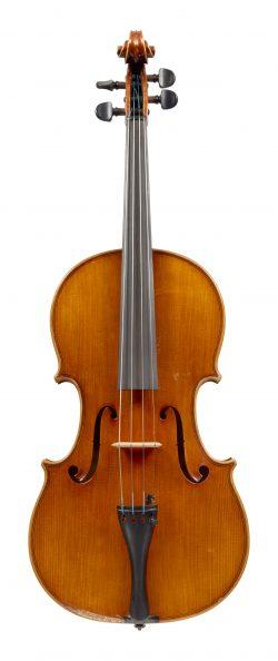 Front of a viola by Marin & Mario Capicchioni, Rimini, 1974