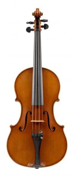 Front of a viola by Marino Capicchioni, Rimini, 1971