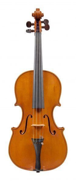 Front of a violin by Mario Gadda, Mantua, circa 1980