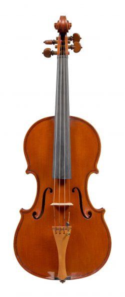 Front of a violin by Mario Gadda, Mantua, c1970