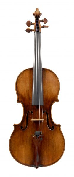 Front of a violin by Matteo Goffriller, Venice, circa 1720