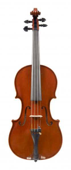 Front of a violin by Maurizio Tadioli, Cremona, 1990
