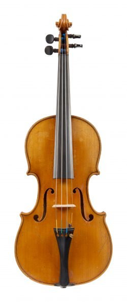 Front of a violin by Michael Strobl, Berlin, 1922