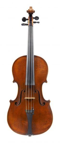Front of a violin by Neuner & Hornsteiner, Mittenwald, c1900